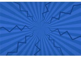 平面设计蓝色漫画壁纸_11740833