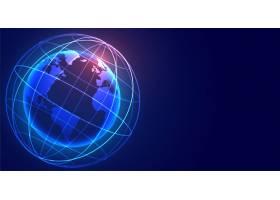 全球数字地球网络连接技术背景_6864941