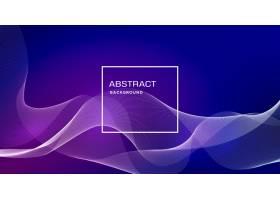 具有动态形状的蓝色抽象背景_4694446