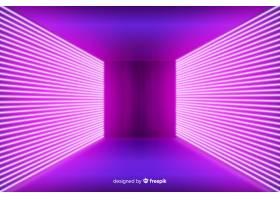 霓虹灯粉色舞台背景_5580009