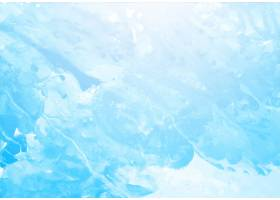 漂亮的蓝色飞溅水彩纹理背景_9853375