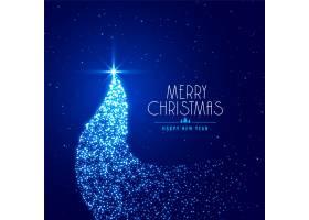 用闪闪发光的创意圣诞树_6080533