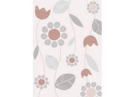 简约的花卉设计_4520108