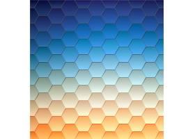 抽象背景几何设计矢量插图着色曲面的_1283560