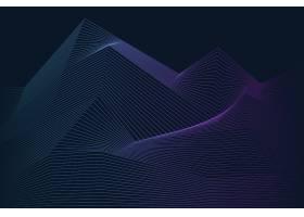 数据可视化动态波型矢量_3415801