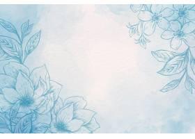 具有手绘元素背景的粉色粉笔_8845955