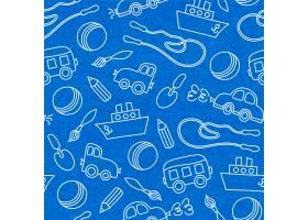 勺子桶球无缝涂鸦儿童玩具_4561571