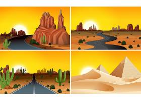 一套沙漠景观_3533205