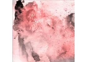 水彩情人节粉色和灰色背景_1541363
