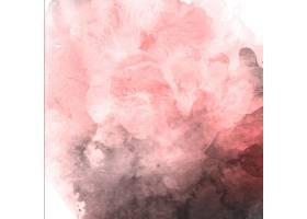 水彩情人节粉色和灰色背景_1541374