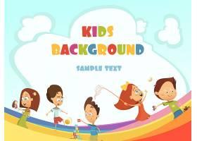 玩儿童卡通背景_4429584