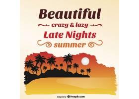 夏日海滩岛_715771