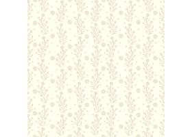 花卉无缝图案背景_1534352
