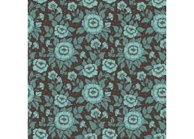 花卉无缝图案背景_1534516