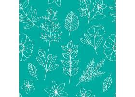 花卉矢量图案设计插图_2903993