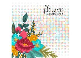 花框五颜六色的花朵_3028999