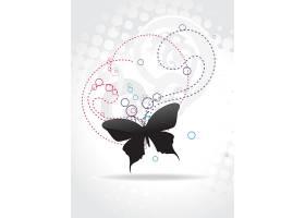蝴蝶造型的抽象设计_1224668