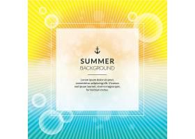 明亮的夏日背景_1101713