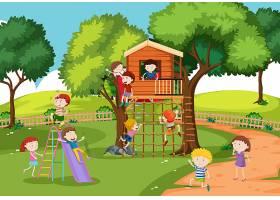 树屋里的孩子们_4382509