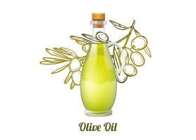 橄榄油素描概念_2873054