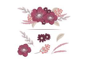 带有五颜六色花朵的花香成分_3209221