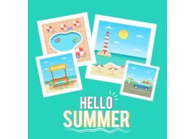 平面设计你好夏日壁纸_7749490
