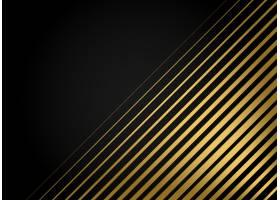 优质金色条纹矢量背景_1777584