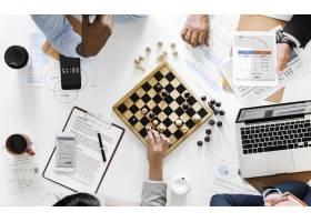 象棋游戏商业战略概念_2975992