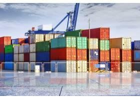 货柜码头码头运输_1116319