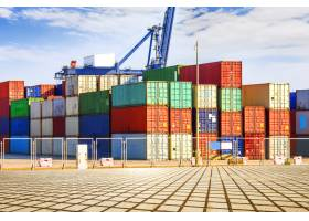 货柜码头码头运输_1171133