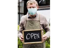 店主在新常态中重新开业Covid 19_13300988