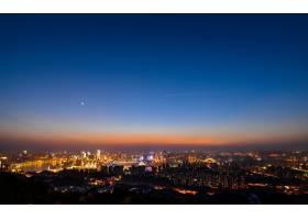 夜色中的现代都市_973429