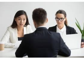 面试男性求职者的不同人力资源经理严重不服_3952567