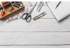 顶级配饰裁缝概念裁剪工具包括剪刀线轴_1276264
