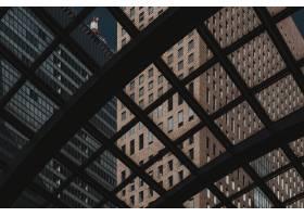 日本商务区的现代摩天大楼_12396171