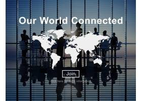 我们的世界互联社交网络互联概念_2830634