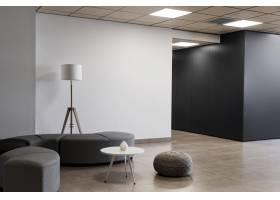 商业建筑中的极简主义空房_10821540