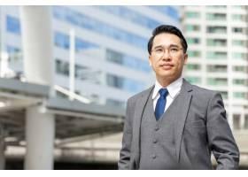 亚洲商务人士写真商圈生活方式商务人士概_11872275
