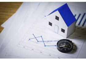 住宅模式与规划背景房地产概念的指南针_1203156