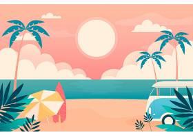 用于缩放的夏季景观壁纸_8940571