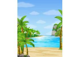 以海洋为背景的自然风光_4804930