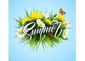 用夏花书写的夏日字迹_13204838