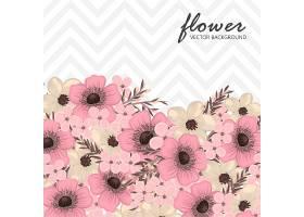 印有鲜花的贺卡_3840443