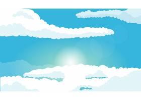 天空视频会议的背景_9226365