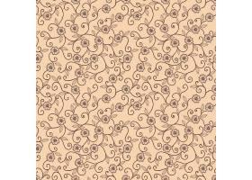 矢量花卉无缝图案背景背景纹理优雅古典_1283317