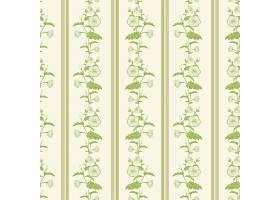 矢量花卉无缝图案背景背景纹理优雅古典_1283535