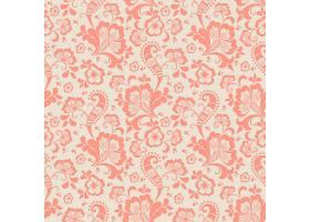 矢量花卉无缝图案背景背景纹理优雅古典_1283694