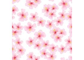 粉红色的樱花图案天衣无缝_3830191