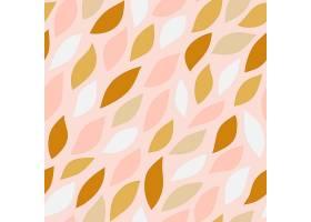 粉红色背景上无缝的花瓣图案_3463250