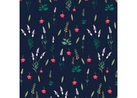 花卉图案背景_3594113